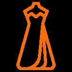 Lavagem de Vestidos de Festa